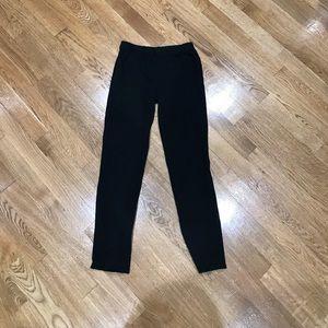 Gap girls capri leggings with lace trim